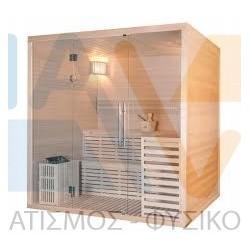 Serenis hemlock εσωτερική σάουνα  180 × 150 × 210 cm